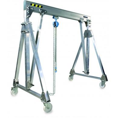Portiques aluminium pliables déplaçables en charge