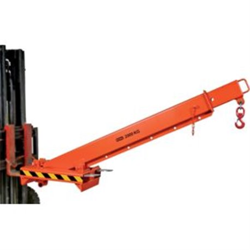 Bras de levage téléscopique HKA 2000 kg pour chariot élevateur longueur 2165-3740 mm largeur 520 mm poids +/- 175 kg avec