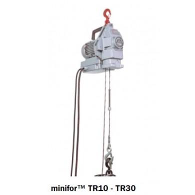 Minifor Standard (câble en sus) TR10 / TR30 / TR30S / TR50 (commande par boite à bouton filaire 2,5m HT, incluse)