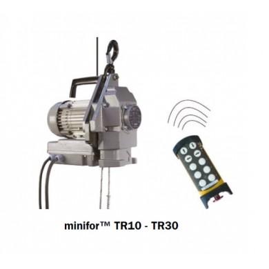 Minifor Standard (câble en sus) TR10 / TR30 / TR30S / TR50 (commande par radio commande , portée 500m, incluse)