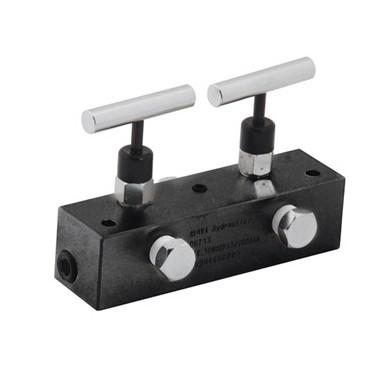 2 ports - Manifold - split flow