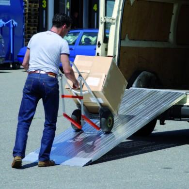 Rampes aluminium type AOS GRANDE LARGEUR - Charge maxi 1 515 kg/unité