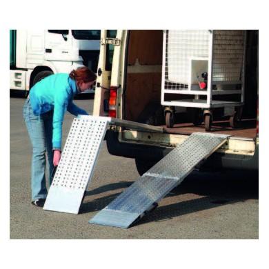 Rampes aluminium type AOS-F - Charge maxi 975 kg/unité