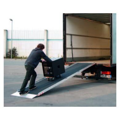 Rampes aluminium type AOS-E - Charge maxi 400 kg/unité