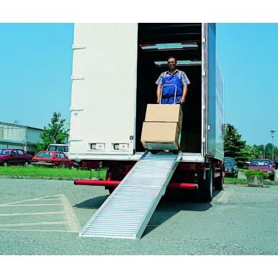 Rampes aluminium type AVS POUR DIABLES - Charge maxi 495 kg/unité