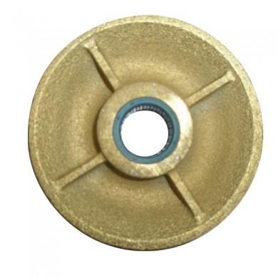 RÉA SUR ROULEMENTS en fonte câble Ø 8-9 mm