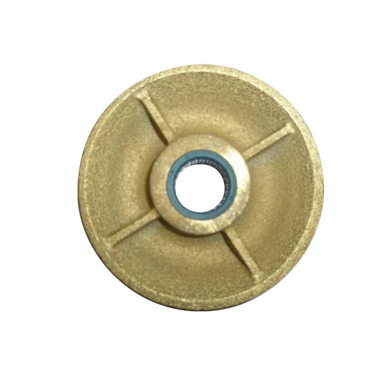 RÉA SUR ROULEMENTS en fonte pour câble Ø 8-9 mm