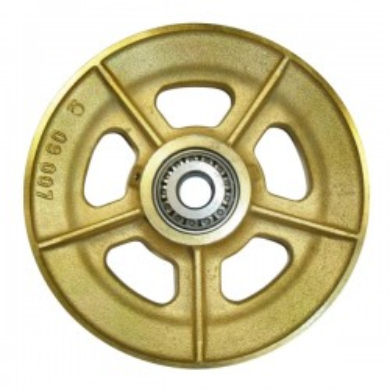 RÉA SUR ROULEMENTS en fonte câble Ø 16-18 mm