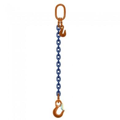 ÉLINGUE CHAÎNE 1 Brin - réglable 1 anneau + 1 crochet standard Grade-100