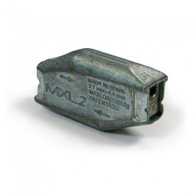 SERRE CABLE MAXTENSOR pour cable diametre 2,7 à 4,4mm - 2 PASSAGES