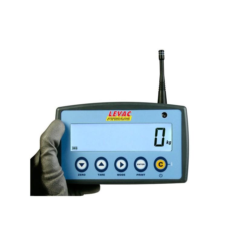 AFFICHEUR RADIO-FREQUENCE - pour dynamomètre à affichage digital