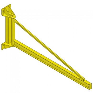 POTENCE MURALE TRIANGULÉE - Rotation 180°