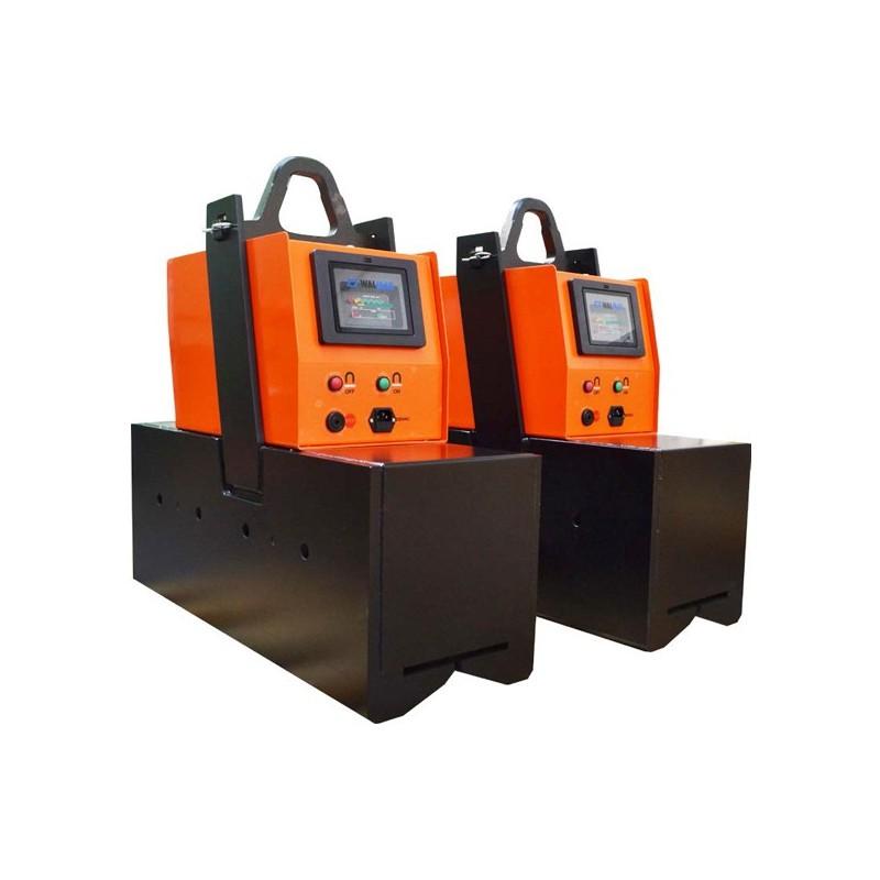 AIMANT PERMANENT à commande éléctrique sur batterie - Pour pièces PLATES et CYLINDRIQUES