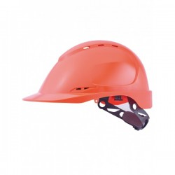 CASQUE ABS NON AERE ORANGE