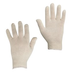 PAIRE DE GANTS DE MANUTENTION COTON TRICOTES (T10)