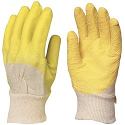 GANTS LATEX DOS AERE (TAILLE 10) (PAIRE)