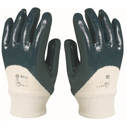 GANTS NITRILE DOS AERE (TAILLE 10)(PAIRE)
