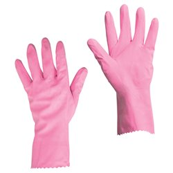 GANTS MENAGE LATEX (TAILLE 10)(PAIRE)