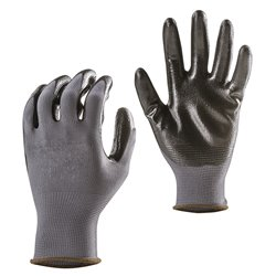 GANTS POLYAMIDE ENDUITS NITRILE (TAILLE 10)(PAIRE)