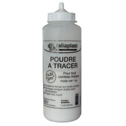 POUDRE A TRACER BLANC 1000G
