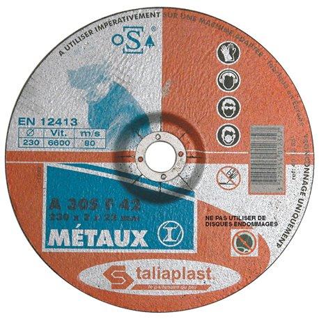 DISQUE ABRASIF POUR METAUX 115MM