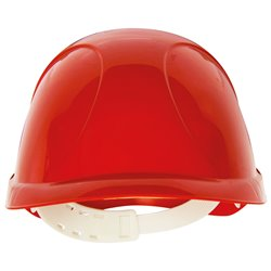 "CASQUE LEGER ""ORYON"" ABS ROUGE"