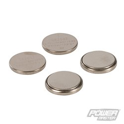 Lot de 4 piles bouton lithium CR2032