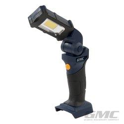 Lampe de travail à tête pivotante 18V (sans batterie)