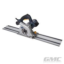 Scie plongeante compacte 110 mm, 1 050 W avec kit rail de guidage