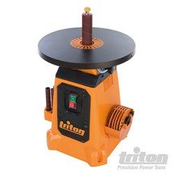 Ponceuse à cylindre oscillant avec plateau inclinable 380 mm, 350 W
