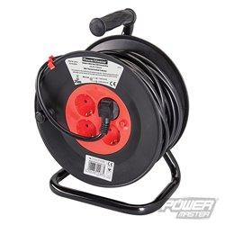 Enrouleur de câble électrique avec prises Schuko UE 230 V - 16A
