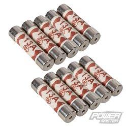 Lot de 10 fusibles - 13 A