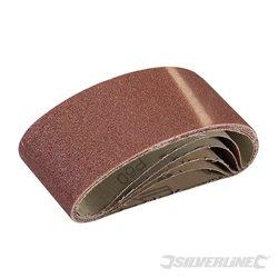 5 bandes abrasives 60 x 400 mm - Grain 60