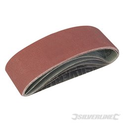 Lots de 5 bandes abrasives 75 x 533 mm