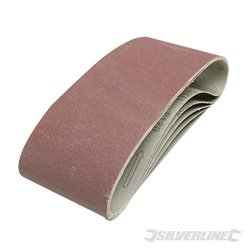 5 bandes abrasives 100 x 610 mm - Grain 40