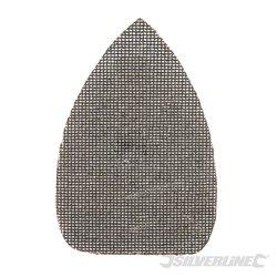 Lot de 10 triangles abrasifs treillis auto-agrippants 140 x 100 mm - Grain 80