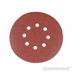 150 mm grain 180 Lot de 10 disques abrasifs perforés auto-agrippants