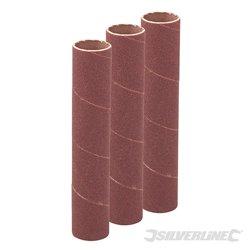 19 mm grain 60 - Ensemble de 3 manchons de ponçage de 114 mm