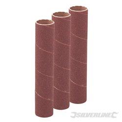 19 mm grain 120 - Ensemble de 3 manchons de ponçage de 114 mm