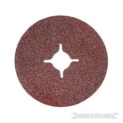 Grain 36 - 10 disques en fibre 115 x 22,23 mm