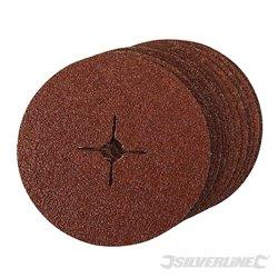 Grain 24 - 10 disques en fibre 180 x 22,23 mm