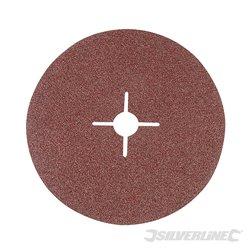 Grain 36 - 10 disques en fibre 180 x 22,23 mm