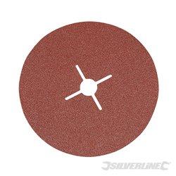 Grain 60 - 10 disques en fibre 180 x 22,23 mm
