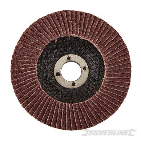 100 mm Grain 40 - Disque à lamelles corindon