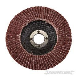 100 mm Grain 60 - Disque à lamelles corindon