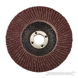 100 mm Grain 80 - Disque à lamelles corindon