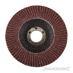 115 mm Grain 60 - Disque à lamelles corindon