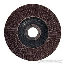 125 mm Grain 40 - Disque à lamelles corindon