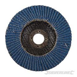 100 mm Grain 40 - Disque à lamelles en zirconium