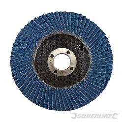100 mm Grain 60 - Disque à lamelles en zirconium